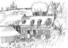 Croquis-Normandie-La-maison-des-voisins
