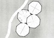 Oktogone-Plan-Pavillon